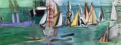 Raoul Dufy Les Regates