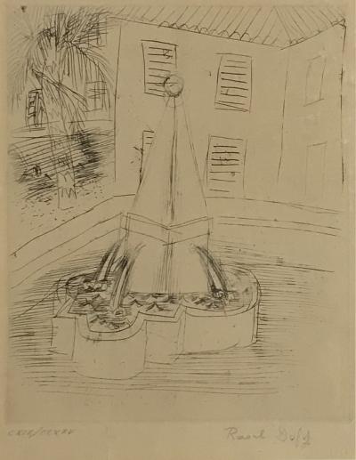 Raoul Dufy Raoul Dufy Original Framed Etching