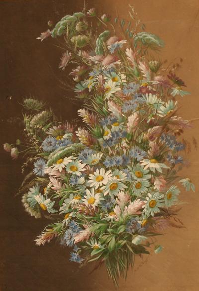 Raoul Maucherat de Longpre Spring Bouquet