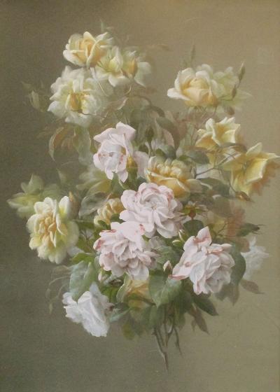 Raoul deLongpre Floral