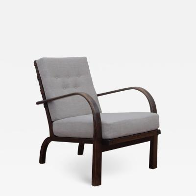 Rare 1930s Lounge Chair by Ernst Heilmann Sevaldsen