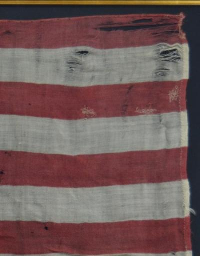 Rare Antique 40 Star American Flag