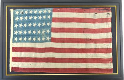 Rare Antique 40 Star American Flag