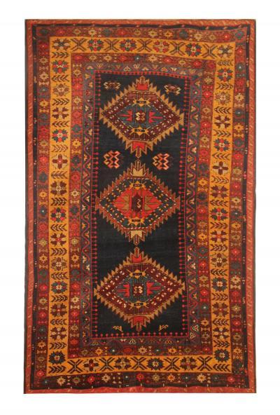 Rare Antique Caucasian Shirvan Kazak Rug Oriental Wool Rug 99x163cm