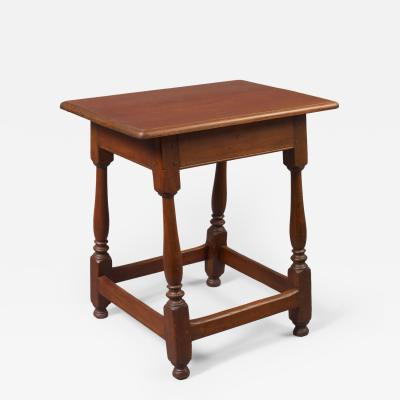 Rare Early Queen Anne Joint Stool