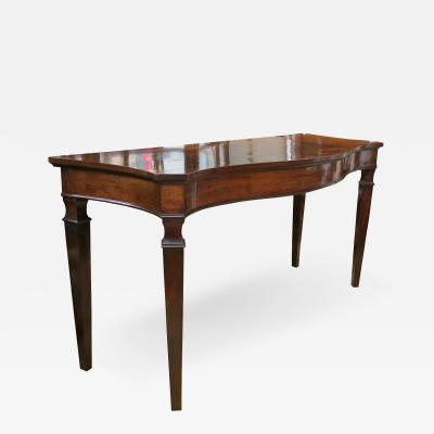 Rare Eighteenth Century American Mahogany Console Table
