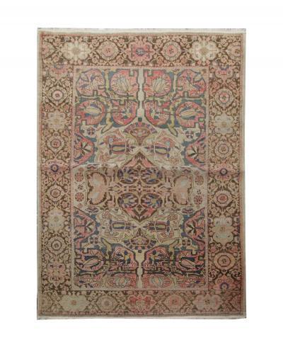Rare Hand Made Oriental Antique Farhan Saroukh Wool Rug