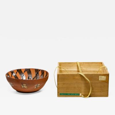 Rare Japanese Ceramic Bowl by Kitaoji Rosanjin