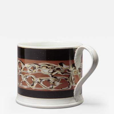 Rare Large Mochaware Mug
