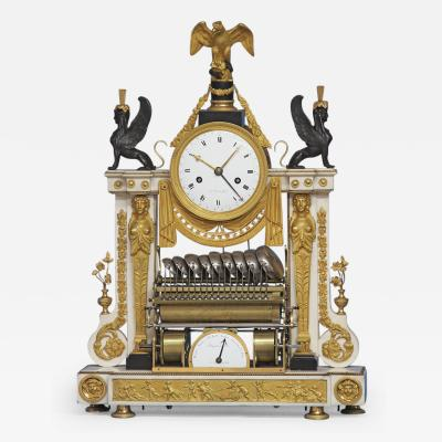 Rare Louis XVI French Musical Mantle Clock