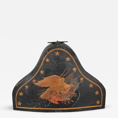 Rare Naval Captains Hat Box