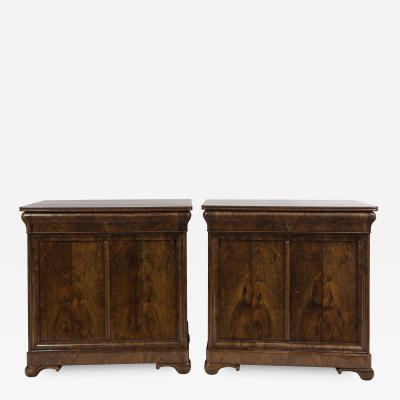 Rare Pair Of Fine French Louis Philippe Cabinets