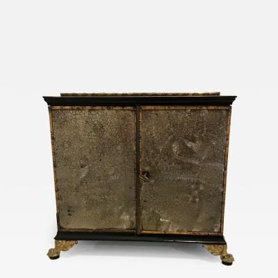 Rare Regency Collectors Cabinet