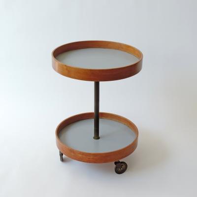 Rare Renato Forti Bar cart work unit Italy 1950s