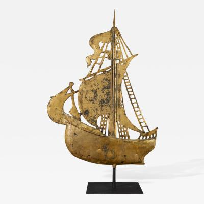 Rare Ship Weathervane