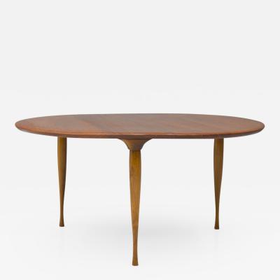 Rare Three Leg Coffee table in Teak Denmark 1950s