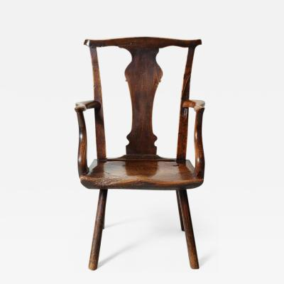 Rare Welsh Silhouette Chair