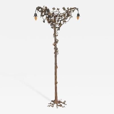 Rare and Possibly Unique Floor Lamp