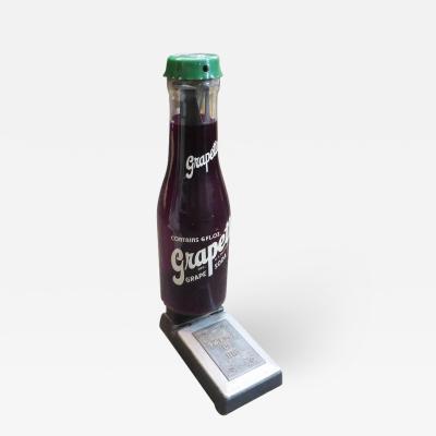 Rare and Unusual 1950s Grapette Soda Bottle Scale