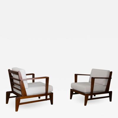 Rare armchairs by Ren Gabriel Mod RG178