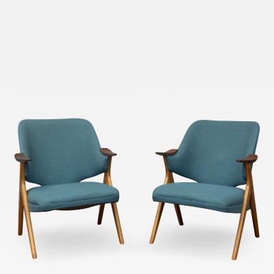 Rastad Relling Scandinavian Modern Blinken Armchairs by Rastad Relling