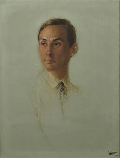 Raul Manteola Raul Manteola Portrait of a Gentleman New York 1964 Oil on Canvas