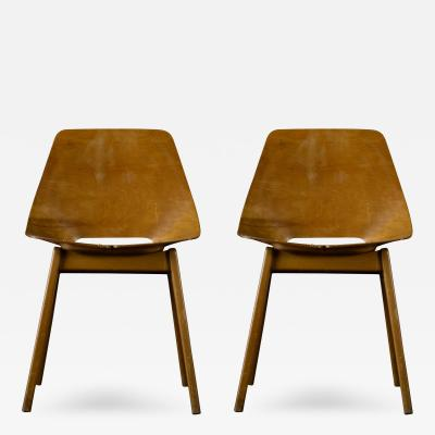 Ray Komai Ray Komai Pair of Chairs