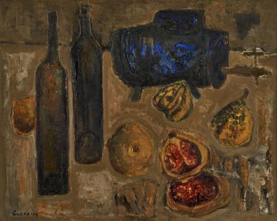 Raymond Guerrier Colorful still life by Raymond Guerrier