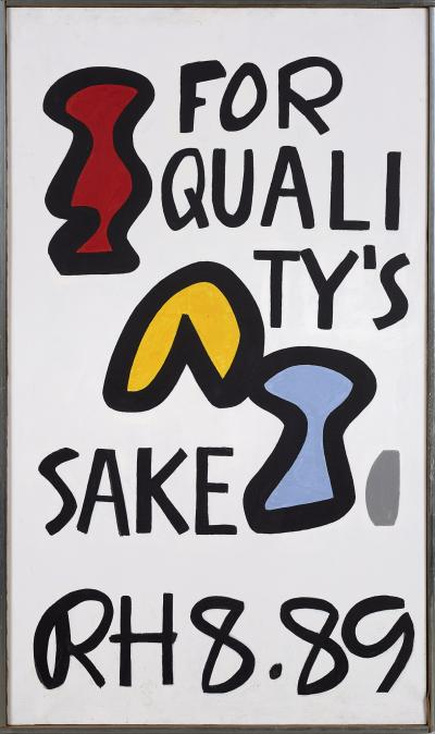 Raymond Hendler For Qualitys Sake