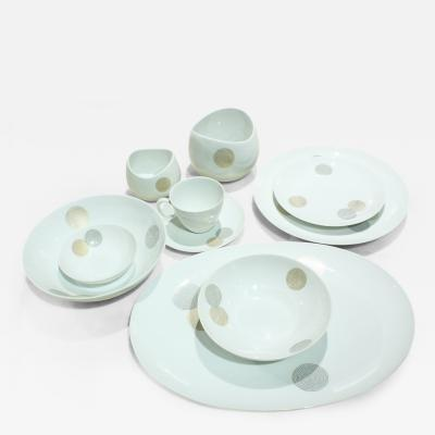 Raymond Loewy Fine Coins China Service for 12 by Raymond Loewy for Continental China