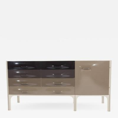 Raymond Loewy Raymond Loewy DF 2000 Cabinet with Six Drawers and One Door Circa 1960s