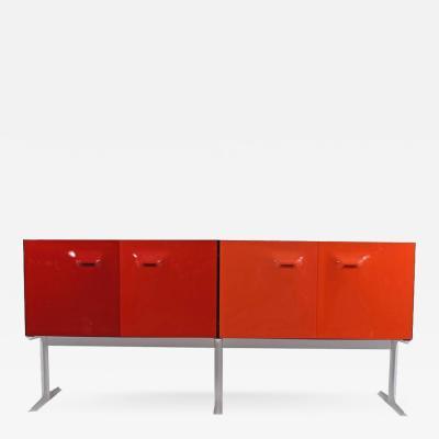Raymond Loewy Two Sided Raymond Loewy Bar Cabinet DF 2000