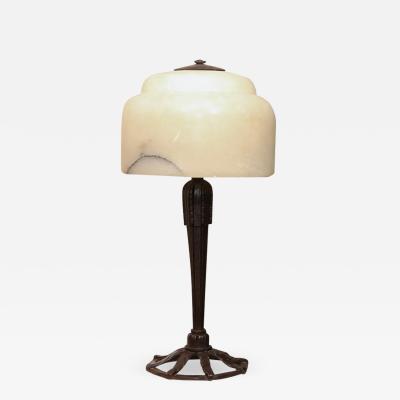 Raymond Subes Art Deco Table Lamp by RAYMOND SUBES