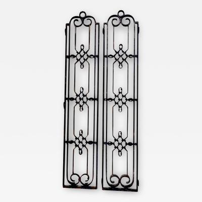 Raymond Subes Attributed Raymond Subes Iron Panels Three Available