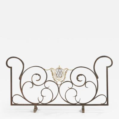 Raymond Subes Raymond Subes 1893 1970 Wrought Iron Screen Circa 1940
