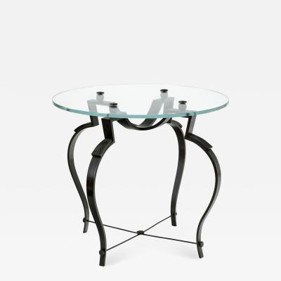 Raymond Subes Raymond subes refined wrought iron coffee table