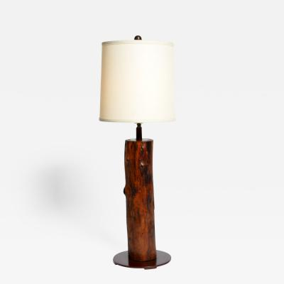 Reclaimed Banyan Wood Lamp