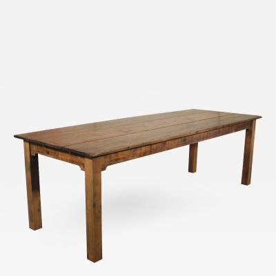 Reclaimed Wood Tobacco Sorting Farm Dining Harvest Conference Table