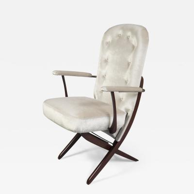 Reclining Armchair France 1960s