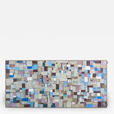 Rectangular Mosaic Coffee Table Signed by WIRTH