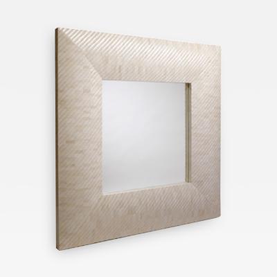 Reeta Gyamlani Aspire Bone Mirror Square