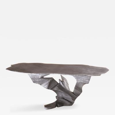 Reeta Gyamlani Metal Sculpture Ansel Cocktail Table