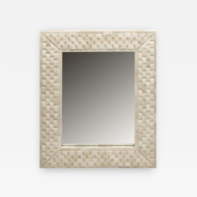 Reeta Gyamlani Weave Bone Mirror