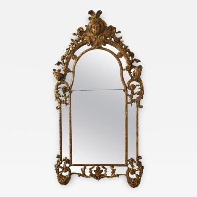 Regence Gilt Beechwood Mirror circa 1720