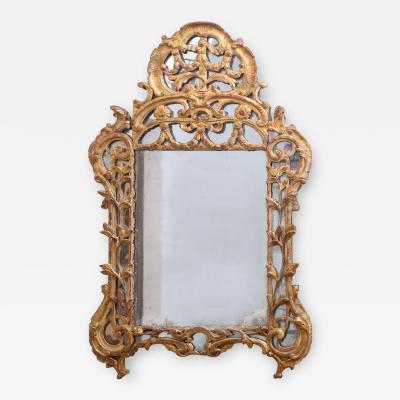 Regence Period Giltwood Mirror