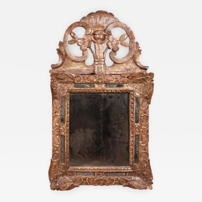 Regence Period Giltwood Mirror French Circa 1750