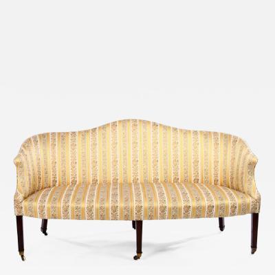 Regency Camelback Sofa England circa 1795