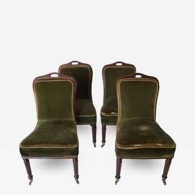 Regency Casino Chairs Set of Four