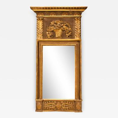Regency Classical Giltwood Mirror Circa 1825 England