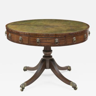 Regency Drum Table Circa 1810